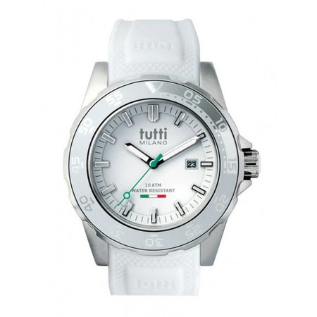 Tutti Milano Corallo Horloge wit TM900 WH
