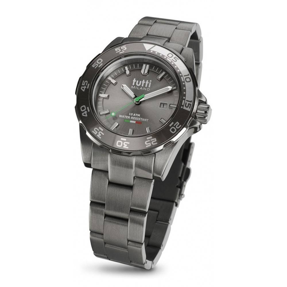 Tutti Milano Corallo Steel Horloge TM900 STP