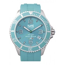 Oceano Grande XL Horloge  turquoise