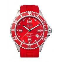 Oceano Grande XL Horloge  rood