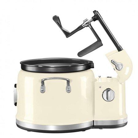 Kitchenaid multicooker en roertoren amandelwit 5KMC4244
