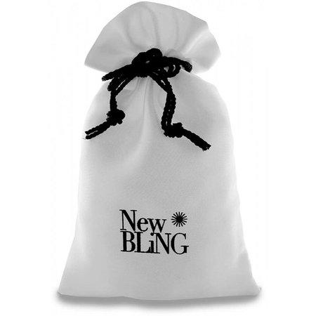 New Bling Gevlochten lederen bedelarmband zwart 980101072
