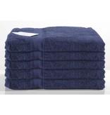 Nightlife Handdoek donker blauw 5-pak