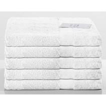 Handdoek wit 5-pak