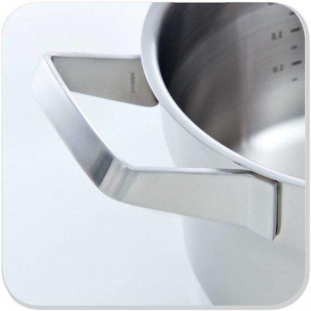 BK RVS Premium Kookpan met glazen deksel Ø20 cm
