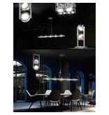 Globo Dubbele chrome LED hanglamp of vloerlamp Baroni 56946-2D