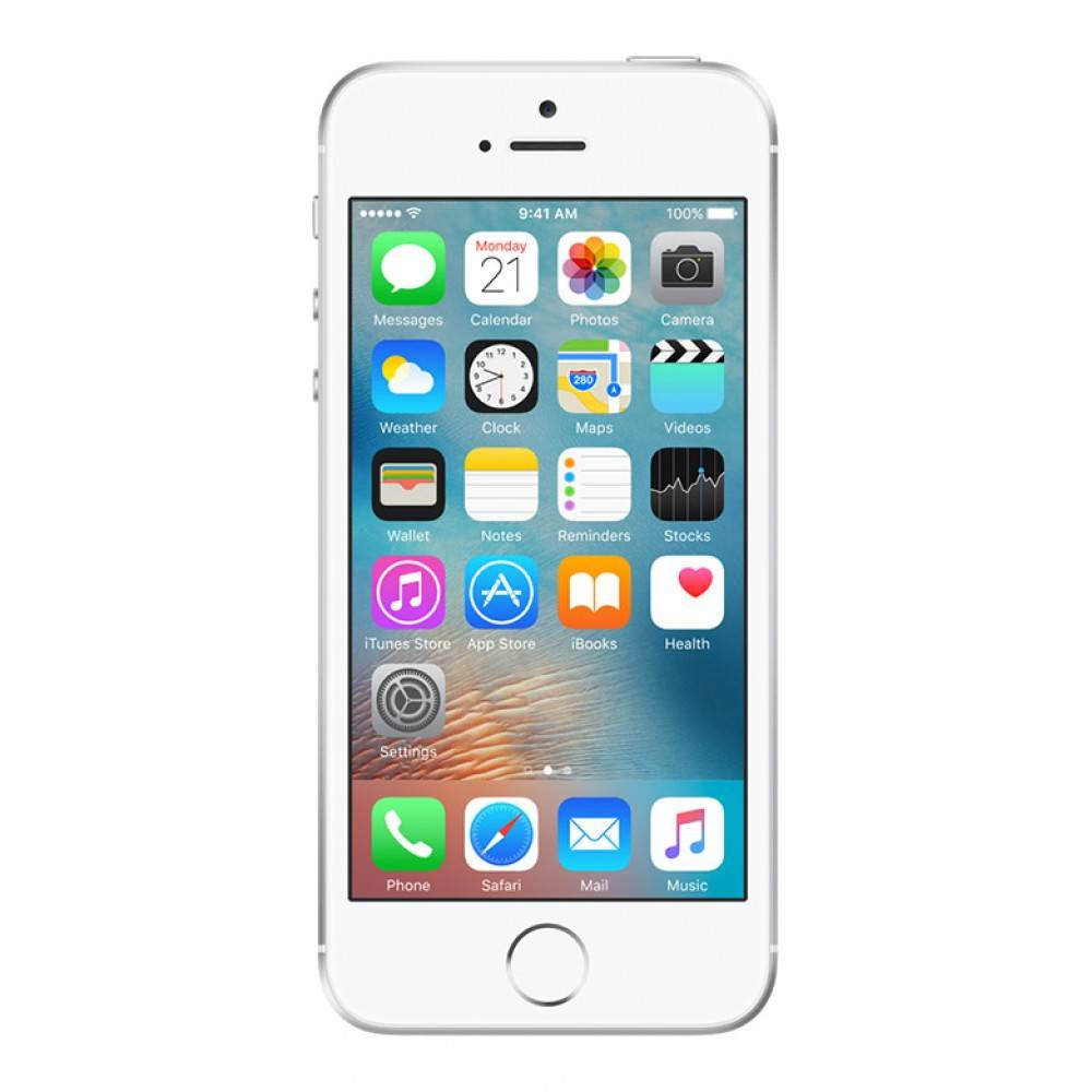 Apple iPhone SE 16GB Zilver Pre owned