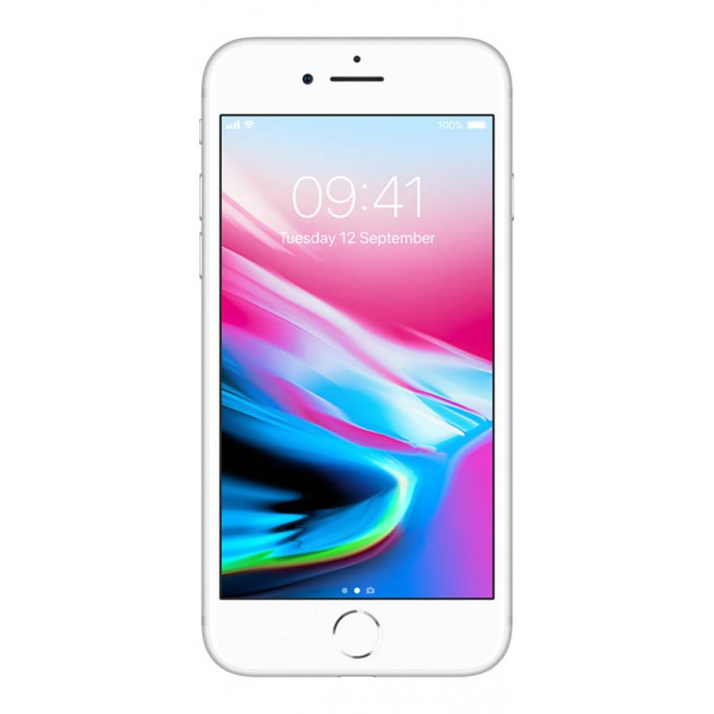 Apple iPhone 8 64GB Zilver Pre owned