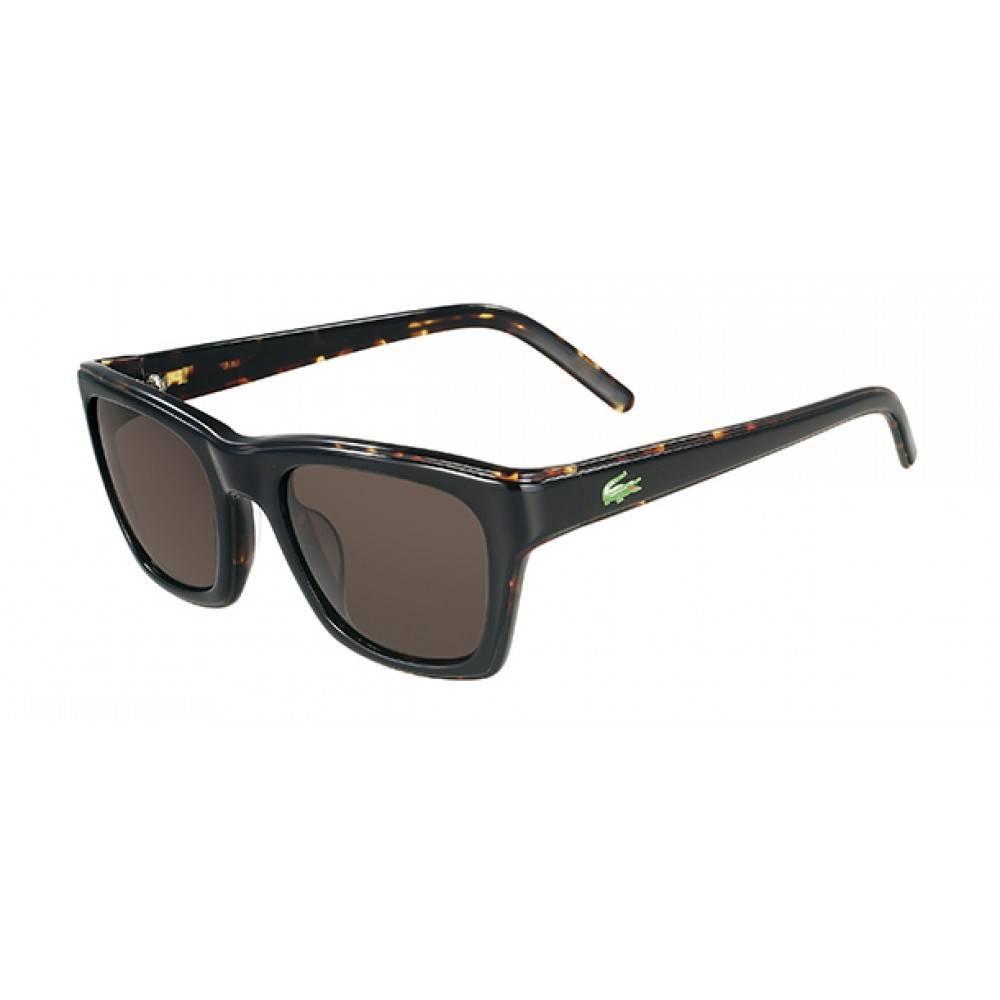 Lacoste zonnebril zwart havana L645S 001