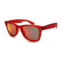 zonnebril rood mat