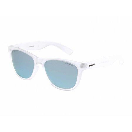 Polaroid zonnebril wit mat P8443