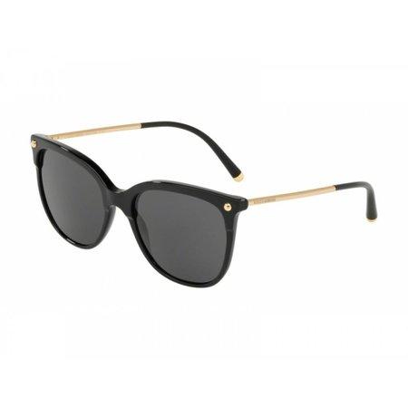 Dolce & Gabbana zonnebril bordeaux zwart DG4333