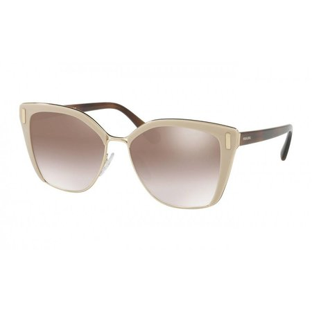 Prada zonnebril bruin goud PR56TS
