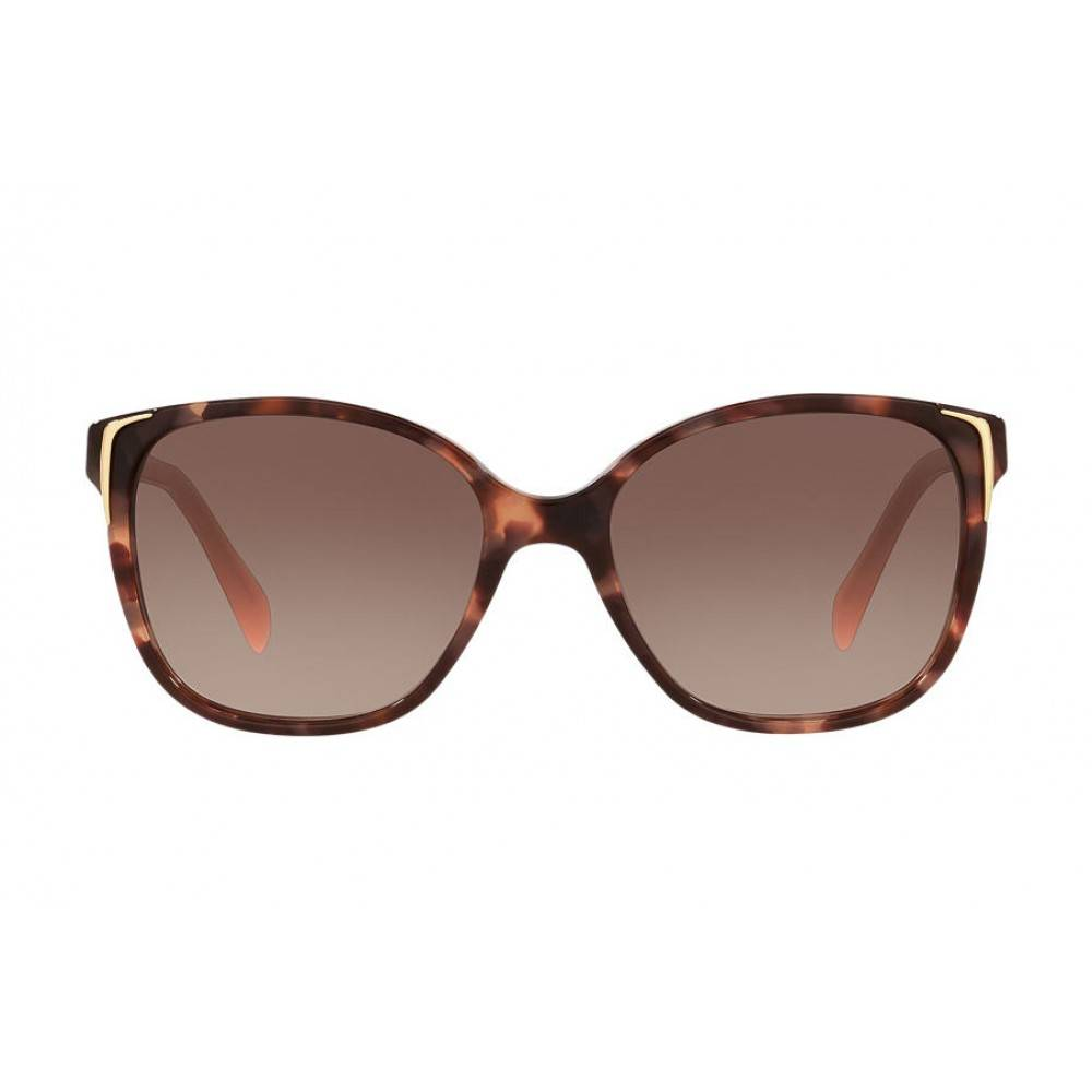 Prada zonnebril Spotted Brown Pink PR 010S