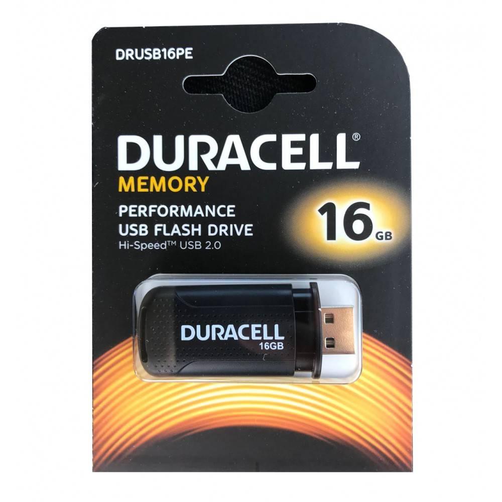 Duracell 16GB USB 2.0 Flash drive DRUSB16PE