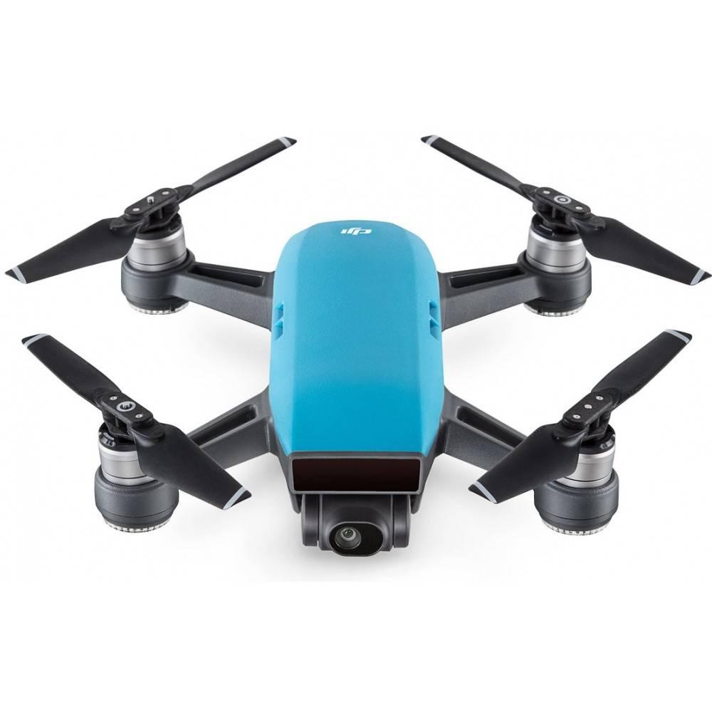 DJI Spark camera drone sky blue