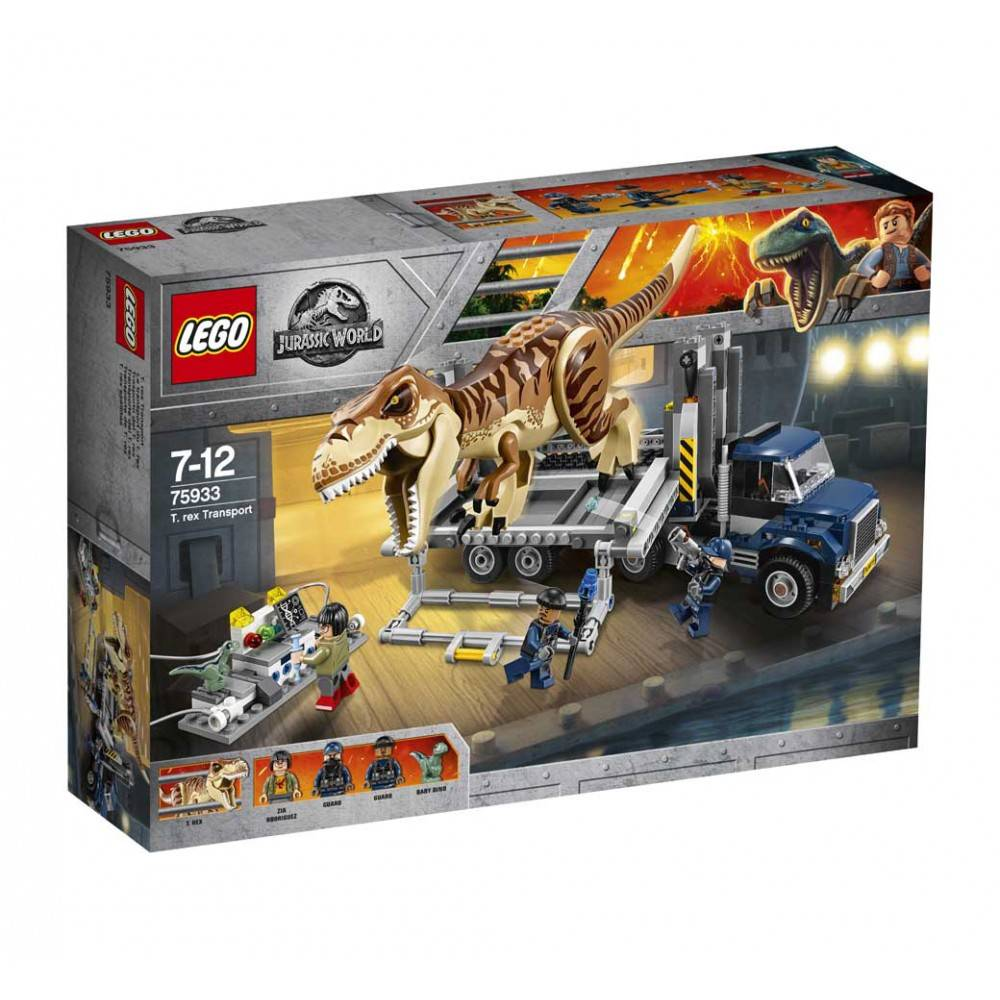 Lego Jurassic World T-Rex Transport 75933