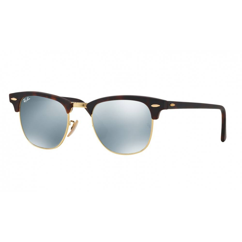 Ray Ban Clubmaster zonnebril havanna RB3016 1145/30