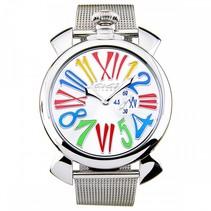 Manuale stalen horloge 46mm