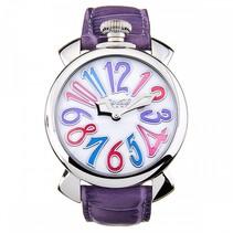 Manuale horloge 40mm lederen croco print