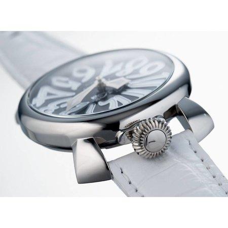 GaGa Milano Manuale horloge 40mm lederen croco print 5020.04