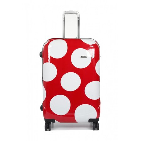 Claymore 3 delige kofferset trolley Fashion Red Dots WTL 6075/3RW