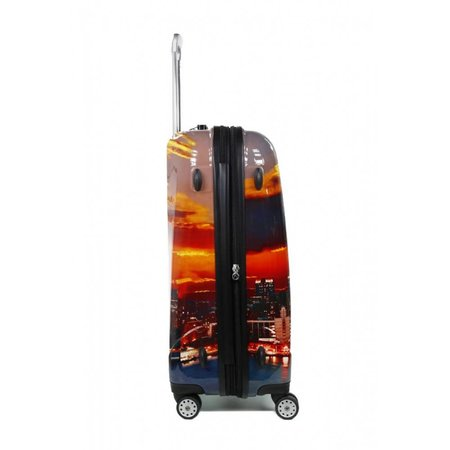 Claymore 3 delige kofferset trolley New York WTL 6075/3NY