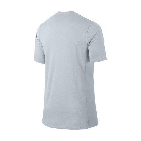 Nike Breathe Elite t-shirt licht grijs 830949-043