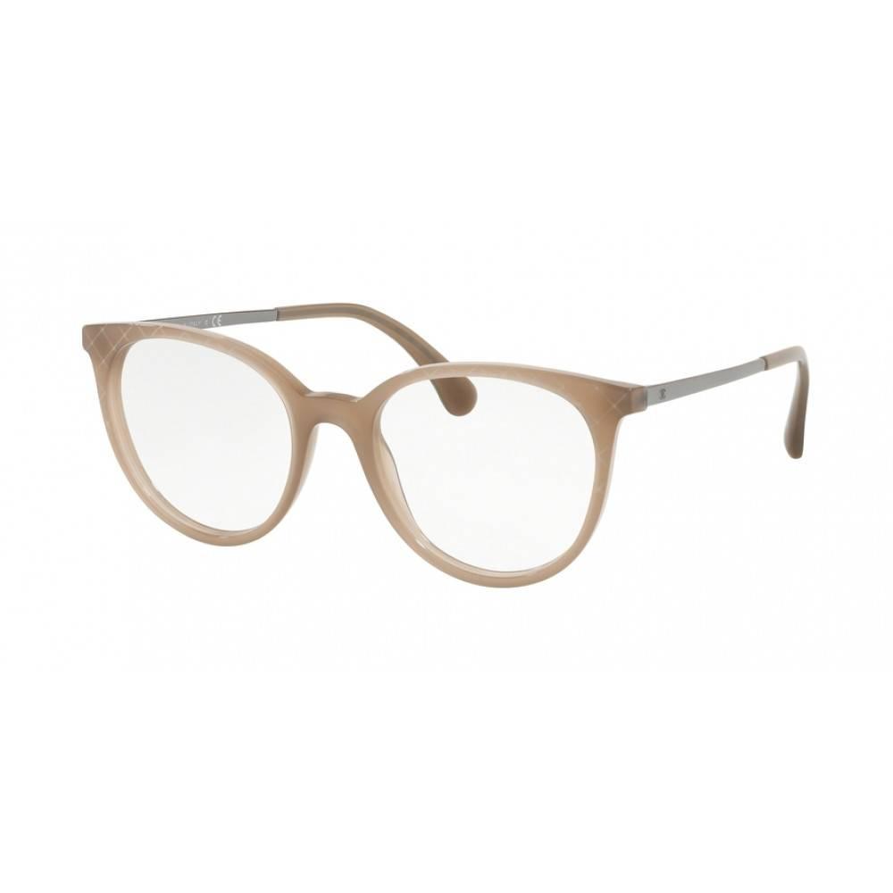 Chanel bril-montuur beige transparant 3378 - 1416