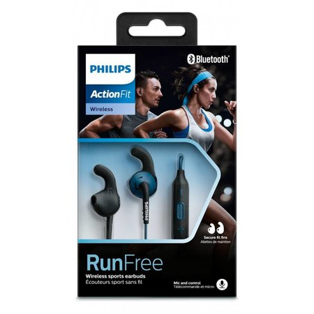 Philips ActionFit In-ear Bluetooth oordopjes blauw SHQ6500BL/00