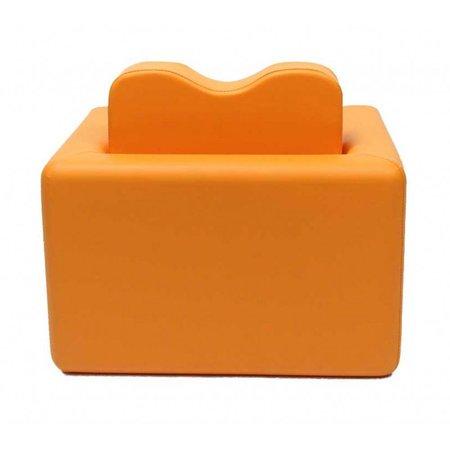 Teddy de Beer bureau / fauteuil 2-in-1 set oranje EK-SB206