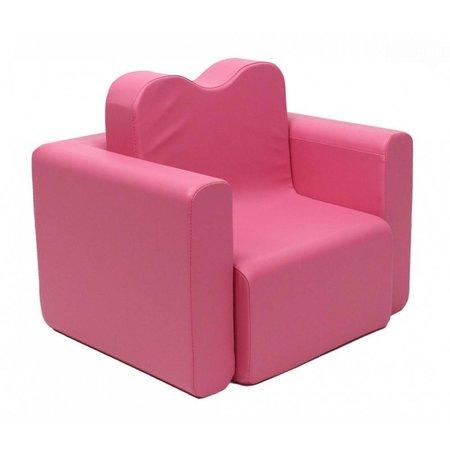 Teddy de Beer bureau / fauteuil 2-in-1 set hot pink EK-SB206