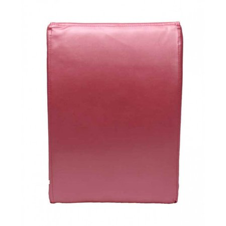 Teddy de Beer Kunstlederen kinderfauteuil zitzak hot pink EK-BS213