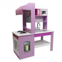 kinderkeuken speelkeuken met oven en kookpitten