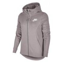 Dames tennis hooded sweatvest poederroze