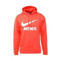 Just Do It heren hoodie rush coral