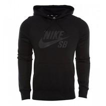 icon heren hoodie zwart