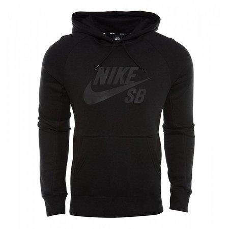 Nike icon heren hoodie zwart 846886-011
