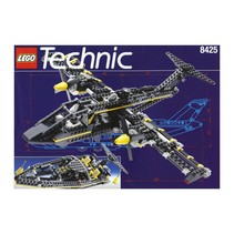 Technic Black Hawk Aircraft & Speedboat