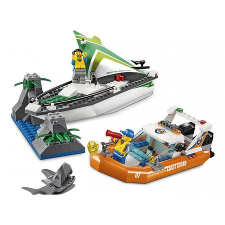 Lego City Zeilboot Reddingsactie 60168