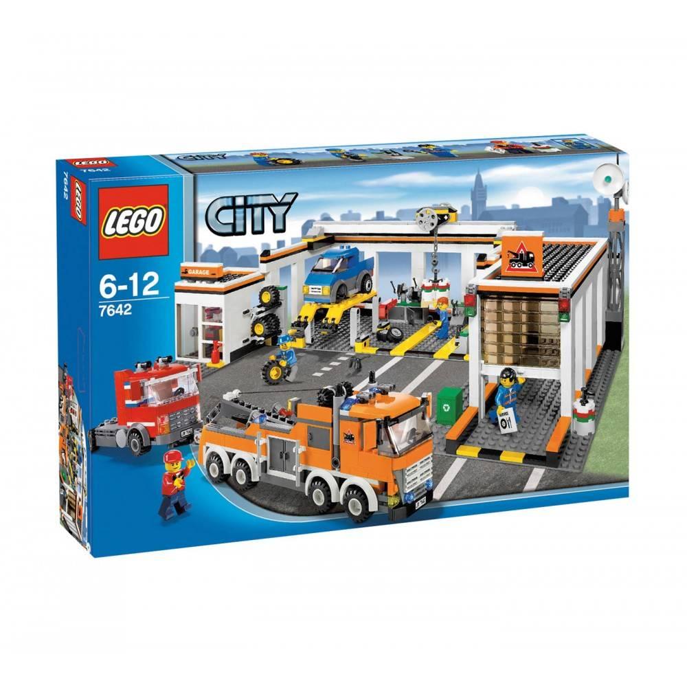 Lego City Garage 7642