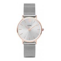 Horloge Minuit Mesh Rose Gold