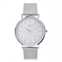Danny zilverkleurig Horloge