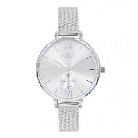 IKKI Estelle zilver Horloge ET01