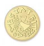 Mi Moneda Munt Amor & Mio Gold plated MON-AMO-02