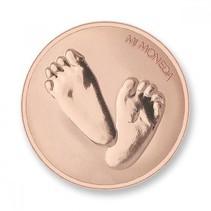 Munt Baby Feet & Te Quiro Rosegold plated