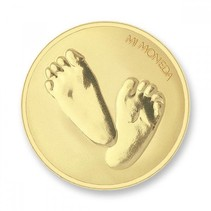 Munt Baby Feet & Te Quiro Gold plated