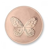 Mi Moneda Munt Elephant & Butterfly Rosegold plated MON-ELE-03