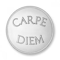 Munt Carpe Diem & Live the Live Silver plated