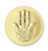 Mi Moneda Munt Vinci & Hand Gold plated MON-DAV-02